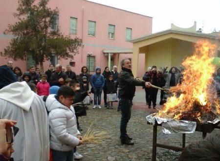 Sardegna – Appare la Madonna tra le fiamme