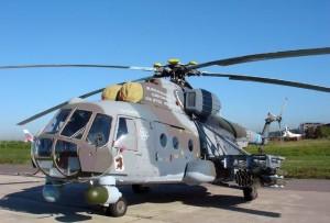 Un elicottero Mil-Mi-8-AMTSh