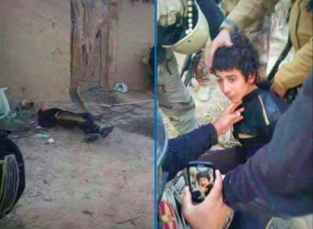 Il Video dell'esecuzione di un bambino in Iraq
