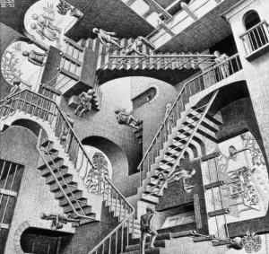 casa con scale
