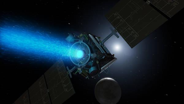 Sonda Dawn. Credit: NASA, JPL-Caltech