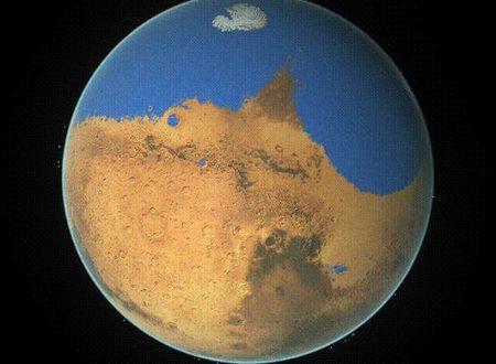 Realizzata Mappa 2D degli Antichi Mari di Marte