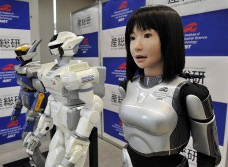 Robot Umanoidi dal Giappone stanno per invaderci