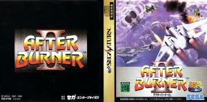After Burner II (J) Booklet