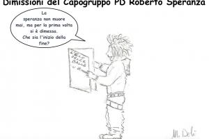 Satira – Dimissioni di Roberto Speranza
