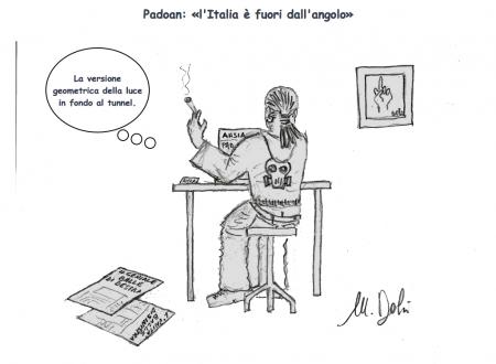 Padoan – Italia fuori dall'angolo