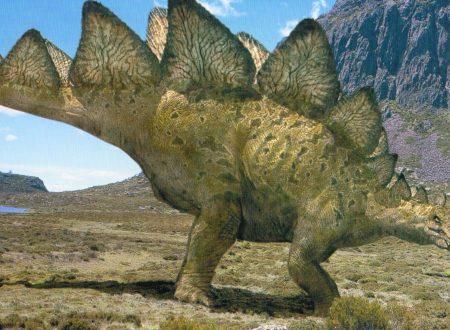 Il cast di Jurassic World – lo Stegosaurus