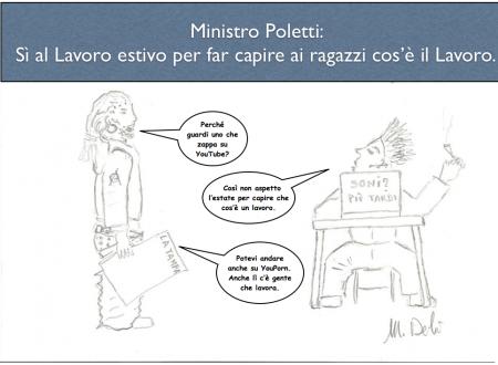 Sì del Ministro Poletti al Lavoro Estivo