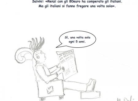 Salvini e gli 80 Euro di Renzi