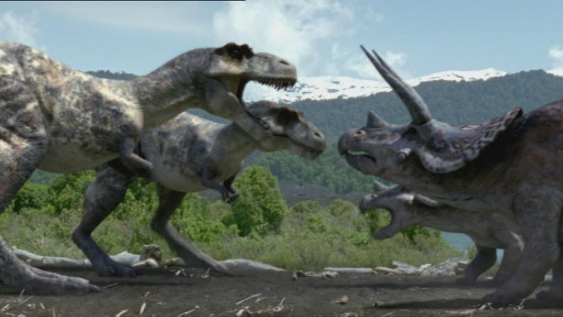 1x1_TriceratopsVSTyrannosaurus