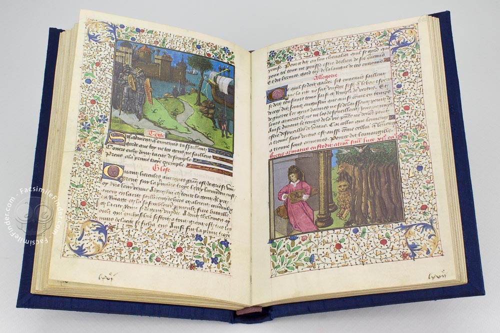 Epistre Othéa, Christine de Pizan - 100 images of wisdom