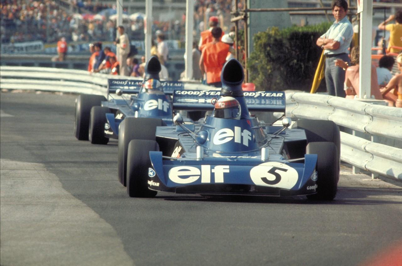 Stewart e Cevert a Montecarlo