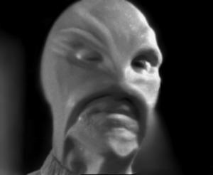 L'alieno dello sceneggiato The Bellero Shield