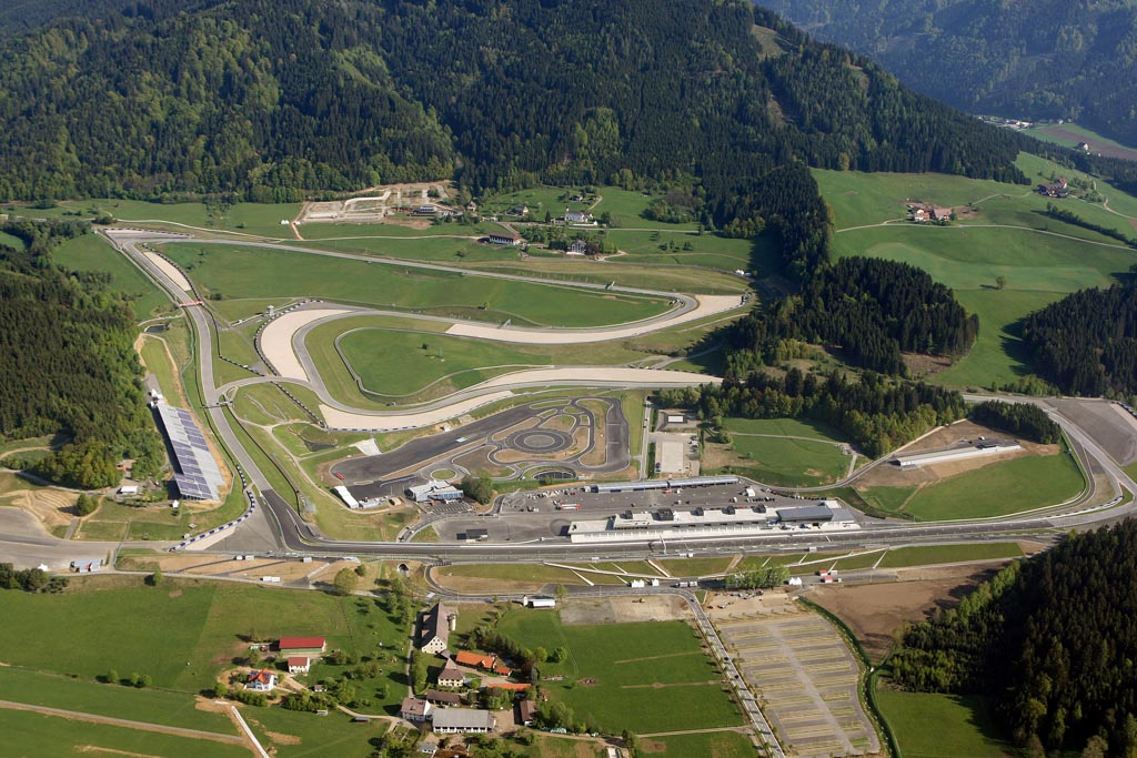 Circuito Formula 1 Austria : Red bull ring gp d austria montaigne