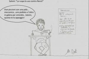 Salvini – nuovo attacco a Renzi