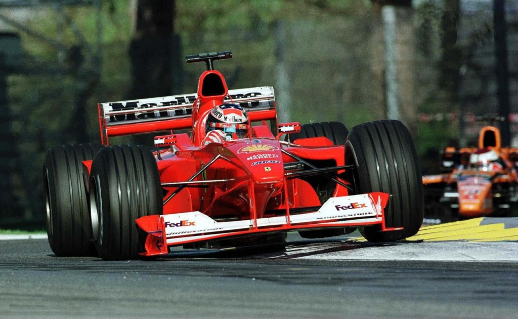 La Ferrari F1-2000