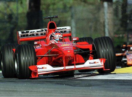 Schumacher e Ferrari – l'iride del 2000
