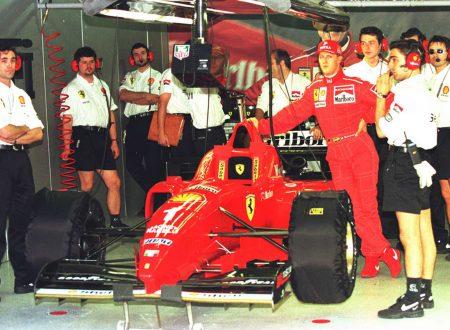 Schumacher in Ferrari – la rincorsa inizia