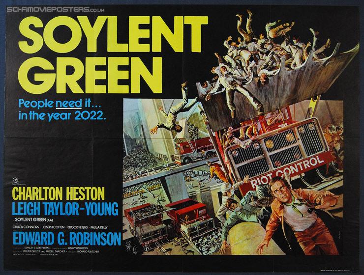 soylent green quad poster