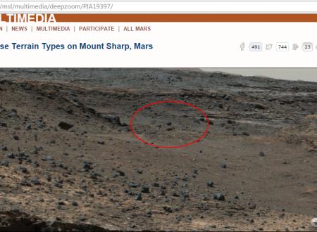 Bufala – sonda aliena su Marte