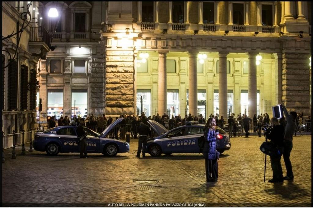Polizia in panne a Roma