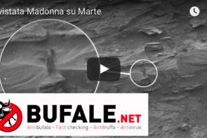 Avvistata Madonna su Marte – VIDEO