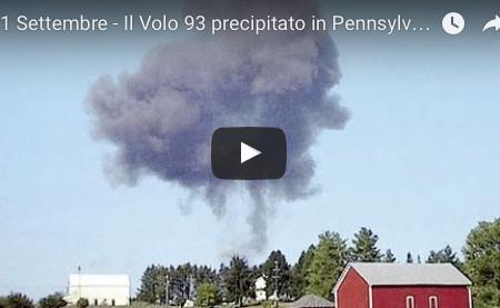 11 Settembre – Il Volo 93 precipitato in Pennsylvania