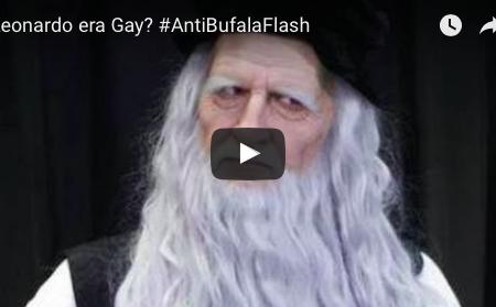 Leonardo era Gay #AntiBufalaFlash