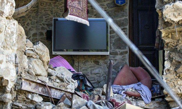 Terremoti e nichilismo da bar