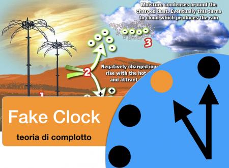 Progetto pioggia, la nuova raccolta fondi di Marcianò contro le Scie chimiche